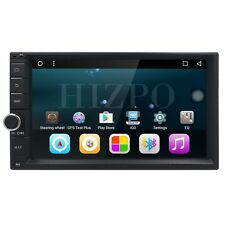 "Android 6.0 WIFI 7"" Double 2DIN Car Radio Stereo Player GPS Nav Bluetooth DAB+ I"