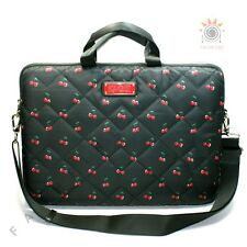 Marc By Marc Jacobs Cherry Print Nylon 15 Inch Laptop Bag/ Messenger Bag $128