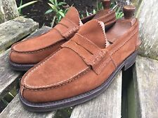 SAXONE Arran Penny Loafers in UK Size 8.5 MINT CONDITION
