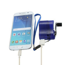 Universal Portable Emergency Charger USB Hand Crank Dynamo For Cellphone MP3 MP4