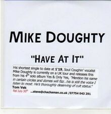 (DD950) Mike Doughty, Have At It - DJ CD