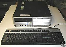 HP/ dlc5100 SFF  P4 3.2 HT SYSTEM BASE UNIT NO HARD DRIVE GOOD