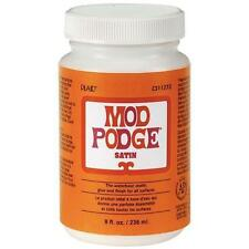 Genuine Mod Modge Podge  - Satin Finish - 8oz - Decoupage