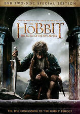 The Hobbit: The Battle of the Five Armies (DVD, 2015, 2-Disc Set, Includes Digit