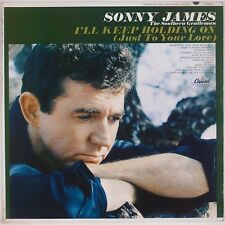 SONNY JAMES: I'll Keep Holding On '65 Capitol ORIG Mono Country VINYL LP