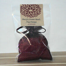 Beezy's Homemade Soy Candles Nag Champa Aroma Bead Deep Red Air Fresheners