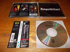 IMPELLITTERY-ST 19871996 EP CD JAPAN OBI SONY SRCS-8034 ROB ROCK
