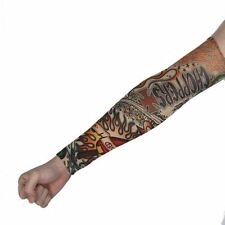 Fake Temporary Party Realistic Tatoo Slip On Tattoo Arm Warmers Cover Sleevelet