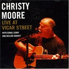 CHRISTY MOORE - LIVE AT VICAR STREET: CD ALBUM (2002)