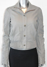 $148 NWT AFFLICTION BLACK PREMIUM womens HEROINE cropped JACKET grey *SMALL