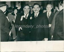 1940 Utah Republicans Escorts Thomas E. Dewey Original News Service Photo
