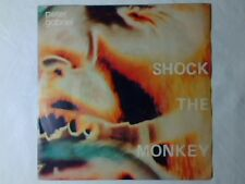 "PETER GABRIEL Shock the monkey 7"" ITALY GENESIS"
