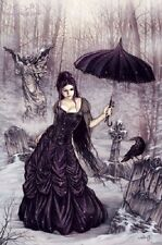 VICTORIA FRANCES PARASOL GIRL POSTER (61x91cm)  NEW WALL ART
