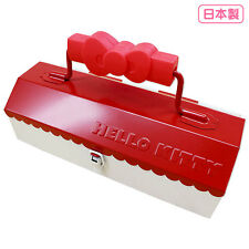 (MADE IN JAPAN) Hello kitty Tool Box Make Case Sanrio Anime Gift F/S From Japan