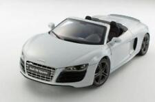 1:18 Audi R8 Spyder in Suzuka Grey diecast model with opening Kyosho