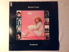 ROSSANA CASALE Frammenti lp ZUCCHERO MIKE FRANCIS P.F.M. COME NUOVO LIKE NEW