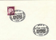 (24083) Germany Train / Railways Cover - 1979 Berlin