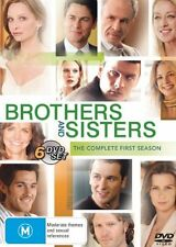 Brothers And Sisters : Season 1 (DVD, 2007, 4-Disc Set) New sealed Free Post R4