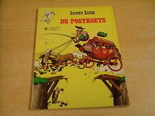LUCKY LUKE - DE POSTKOETS / 1° DRUK UIT 1969