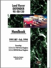 Betriebsanleitung / Owners manual Land Rover Defender 90/110/130 1991 -  02/1994