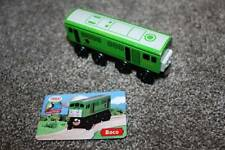 Thomas the Train & Friends Wooden Railway Boco Card Set RARE 2003 Green Wood Toy