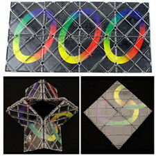 8 Panel 5 Ring Rubik Magic Master Puzzle Folding ghost hand Children Toy Gift