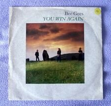 1 x Single - Bee Gees - You win again - Backtafunk