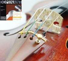 100%Genuine Dominant Violin String set with Gold Label E Ball End 4/4 USA SELLER