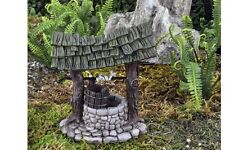 Miniature Dollhouse FAIRY GARDEN ~ Mini Wishing Well ~ NEW