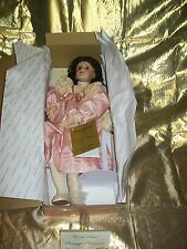 Porcelain Doll Mary Elizabeth & Her Jumeau NEW Georgetown Artist w Stand COA 18""