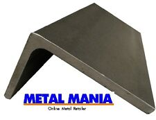 Steel Angle iron 100mm x 65mm x 7mm x 250mm unequal sided angle iron