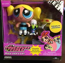 POWERPUFF GIRLS MOJO JOJO'S LAIR WITH BUBBLES FIGURE TRENDMASTERS