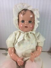 "20"" IDEAL MIRACLE ON 34TH STREET! BABY BEAUTIFUL! COMPOSITION WITH CLOTH BODY"