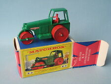 Lesney Matchbox Kingsize K-9 Aveling Barford Road Roller Boxed Near Mint