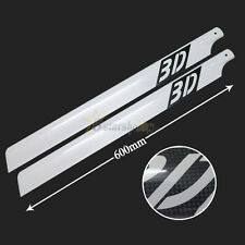 600mm 3D CF Carbon Fiber Main Blade for Align Trex 600 Helicopter