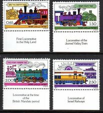 Israel - 1977 Locomotives Mi. 722-25 MNH