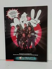 1989 Ghostbusters 2 Storybook Softcover Book- UK Import-FREE S&H (GBBO-2-FW)