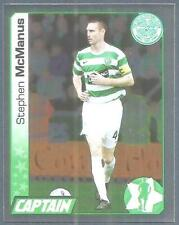 PANINI SCOTTISH PREMIER LEAGUE 2008- #077-CELTIC-CAPTAIN-STEPHEN McMANUS-FOIL