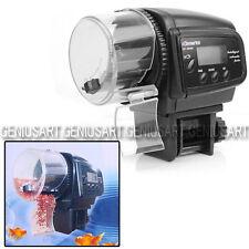 Alimentatore Mangiatoia per Pesce Acquario Vasca Distributore LCD Automatico