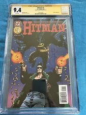 Hitman #1 - DC - CGC SS 9.4 NM - Signed by John McCrea - Batman
