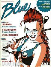 Blue - n. 84 Aprile 1998 - Gipi, Scòzzari, Lidia Ravera, ..... ottimo