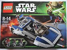 LEGO Star Wars 75022 - Mandalorian Speeder  kpl. + BA  + OVP +  Figuren  TOP