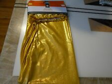 New ! 1 Pair Adult Sparkley Shine Leggings Golden Color indoor use only Size S/M