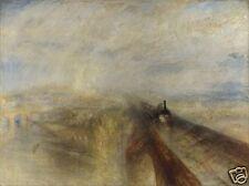 RAIN vapore e velocità della Great Western Railway JMW TURNER 1844 11x8 pollici stampa