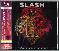 SLASH-APOCALYPTIC LOVE TOUR DELUXE EDITION-JAPAN ONLY SHM-CD DVD H25
