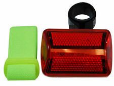 New 5in1 6 Way Bike Safety Flasher Red LED Light Hiking Jogging FL26RY25
