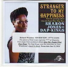 (EQ608) Sharon Jones & The Dap-Kings,  Stranger To My Happiness - 2014 DJ CD
