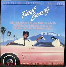 SEALED Whoopie Goldberg Fatal Beauty Debbie Gibson Ruben Blades Soundtrack LP