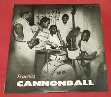 CANNONBALL ADERLEY   LP ORIG FR 60'S PRESENTING CANNONBALL  EX +!