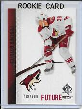 10-11 SP Authentic Brett MacLean Future Watch Rookie # 241